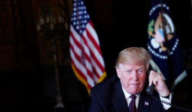 El presidente de EE.UU., Donald Trump, ha sido duramente cuestionado por los casos de Rusia y Arabia.