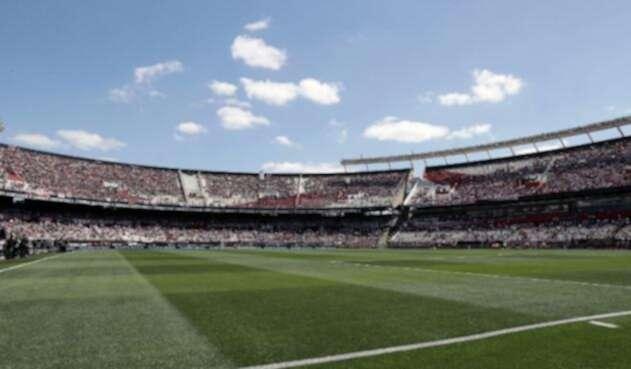 Césped del estadio Monumental de River Plate