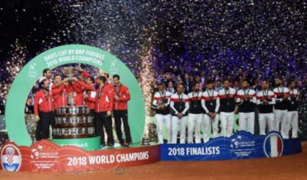 Croacia sube al noveno escalafón en el palmarés de la Copa Davis