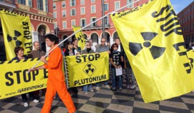 manifestación Nuclear
