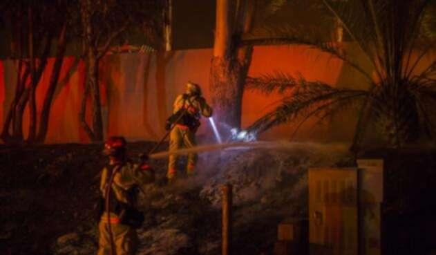 Imágenes de los incendios en California