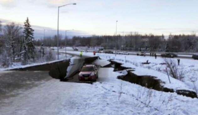 Terremoto en Alaska.