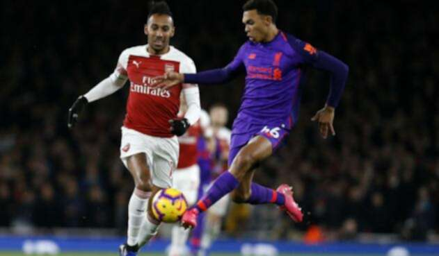 Arsenal Vs Liverpool, el partido más destacado de la undécima fecha en la Premier League