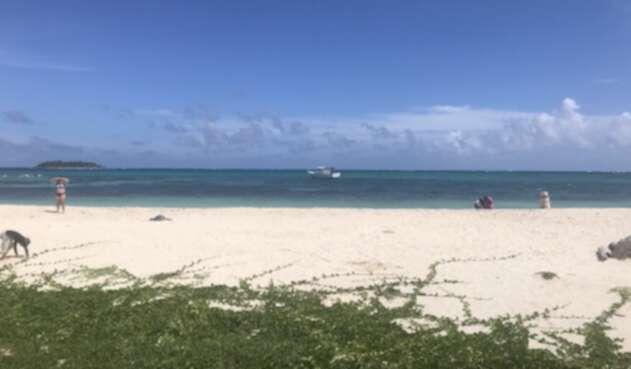 Playa en San Andrés
