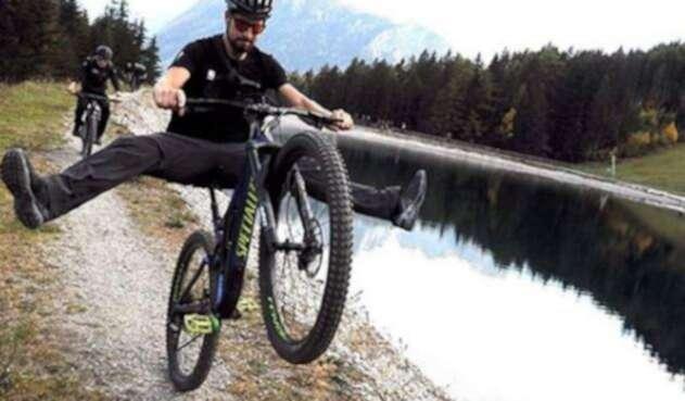 Peter Sagan, ciclista eslovaco visitó Colombia.