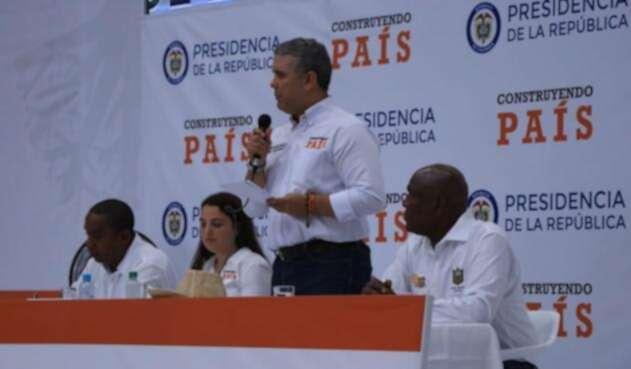 Presidente Iván Duque en Taller Construyendo País en Quibdó