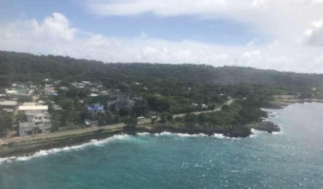 Vista panorámica de San Andrés