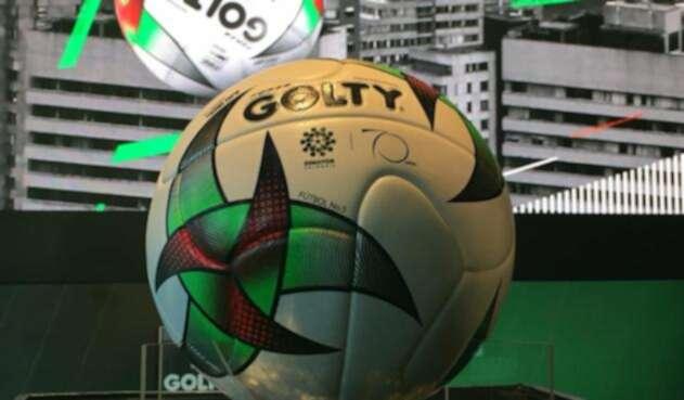 Golty presentó el balón con el que se jugará la Liga 462d875771770