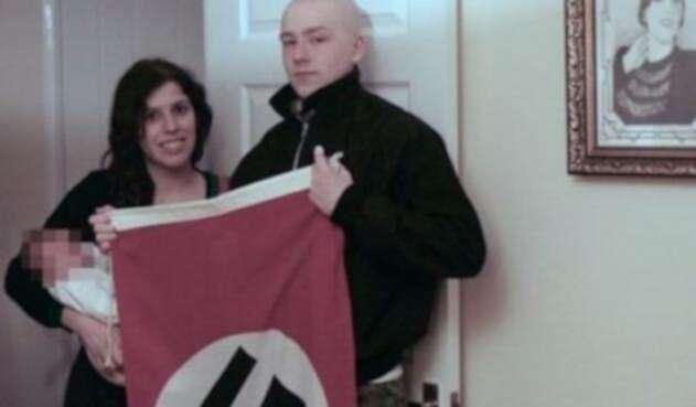 Adam Thomas y Claudia Patatas, la pareja que llamó Adolf a su bebé en honor a Hitler