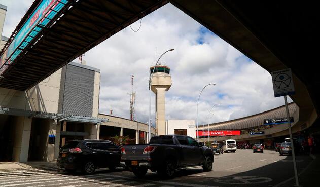 El aeropuerto José María Córdova de Rionegro, en Antioquia.