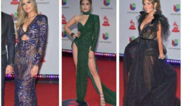 Ariadna Gutiérrez en los Grammy Latinos