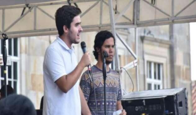 Palacio, estudiante de la Universidad Nacional aseguró que a través de redes sociales e incluso en las propias manifestaciones ha recibido intimidaciones.