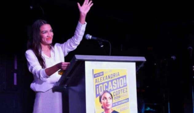 Alexandria Ocasio-Cortez, la congresista más joven de la historia de EE.UU.
