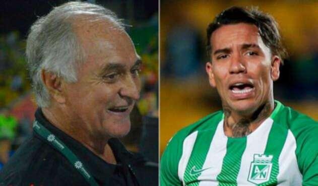 Fernando el 'Pecoso' Castro no tiene en sus planes a Dayro Moreno para el América