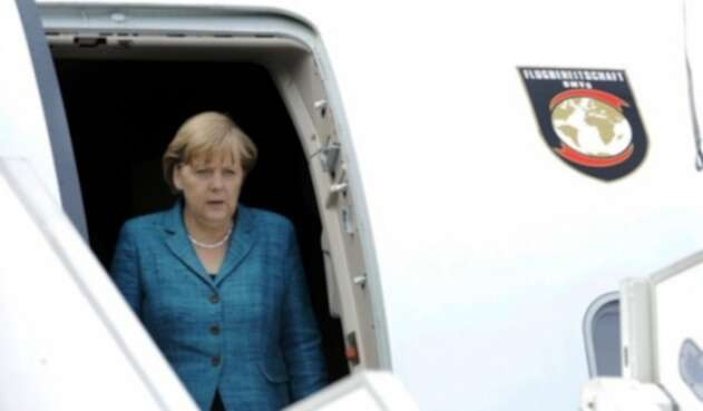 Canciller alemana Angela Merkel.