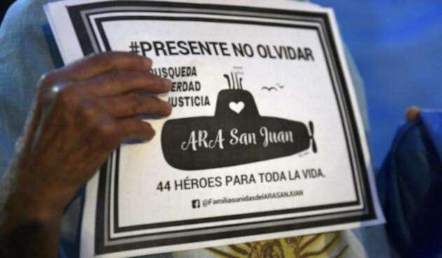 El submarino ARA San Juan duró un año desaparecido.