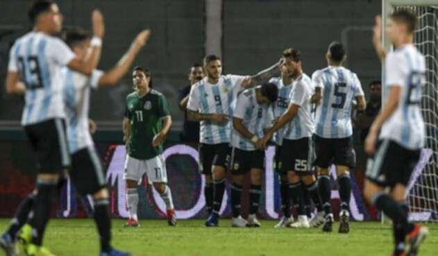 Argentina venció a México