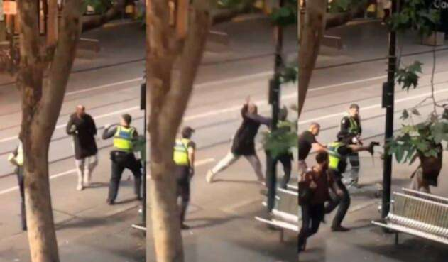 Ataque con cuchillo en Melbourne
