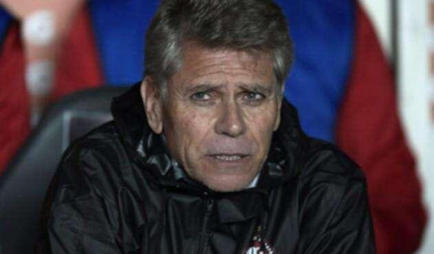 Paulo Autuori, técnico de Atlético Nacional, tras ser confirmado por el equipo verdolaga.