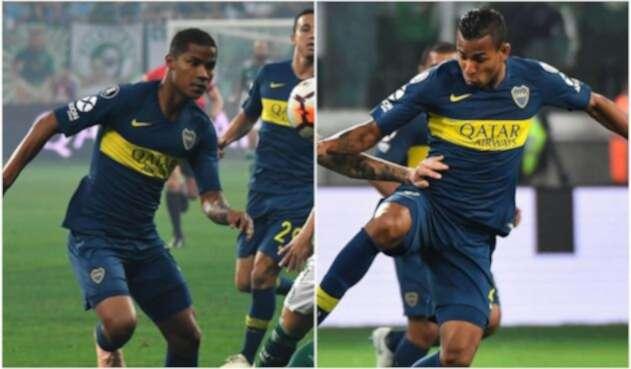 Wilmar Barrios y Sebastián Villa, Boca Juniors