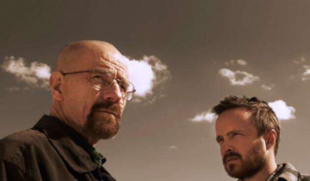 Bryan Cranston y Aaron Paul en Breaking Bad