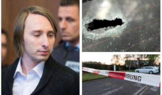Serguei Wenergold, responsable del atentado a bus del Borussia Dortmund