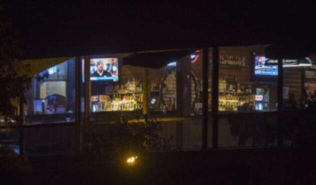 El bar Borderline de Thousand Oaks, en California, donde tuvo lugar la masacre