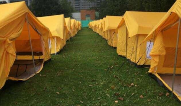 Nuevo Campamento para migrantes venezolanos 3