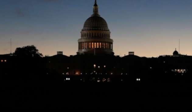 El Capitolio, en Washington, el edificio que alberga las dos cámaras del Congreso de los Estados Unidos