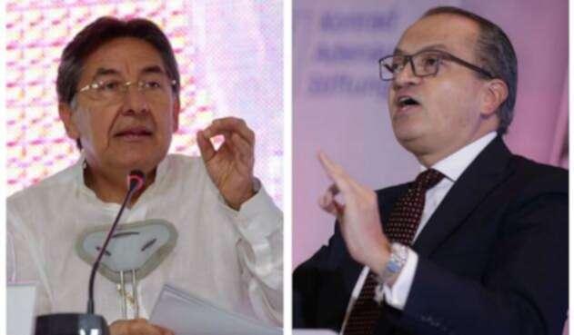 Fiscal Martínez y Procurador Carrillo