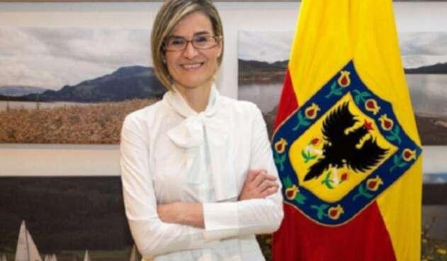 Carolina Castillo, gerente de la EAAB