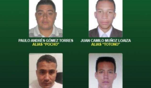 Cartel de la banda La Agonía de Medellín