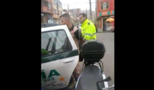 Caso de policías que detienen a un suboficial
