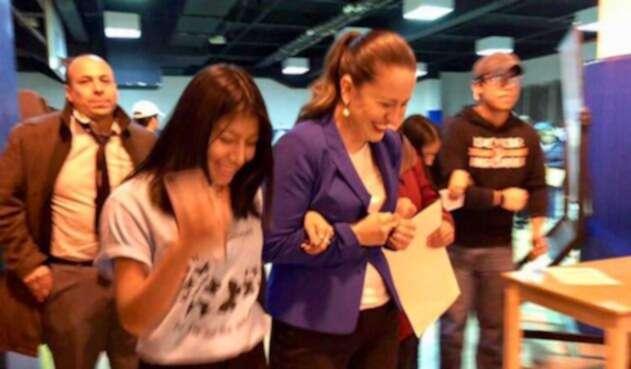 Catalina Cruz, colombiana que representará a los migrantes en asamblea de Nueva York