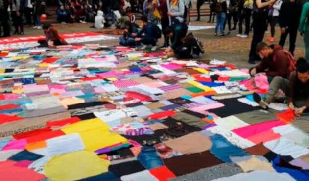 Cosamos el parche, estudiantiles protestan desde el arte
