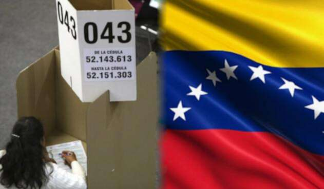 Votaciones para venezolanos