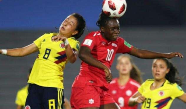 Colombia perdió con Canadá