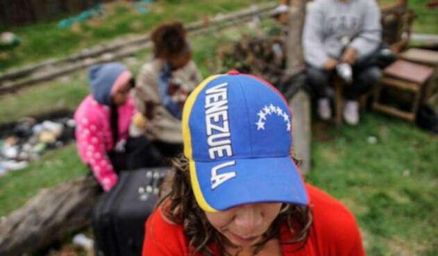Campamentos a venezolanos.