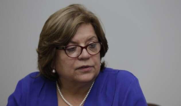 Ministra Gloria María Borrero.