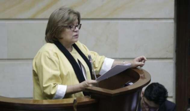 Gloria María Borrero, exministra de Justicia