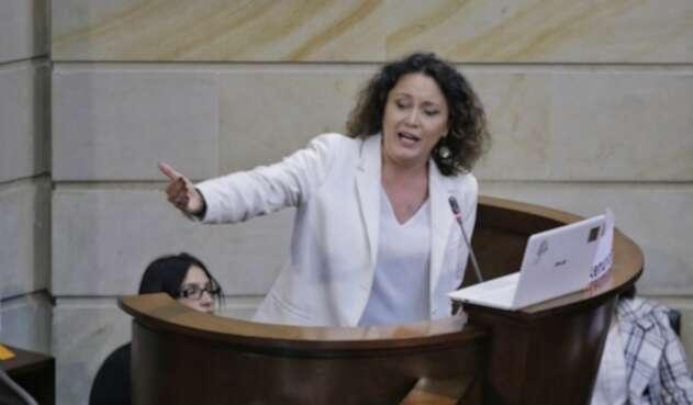 Angélica Lozano, senadora por la Alianza Verde