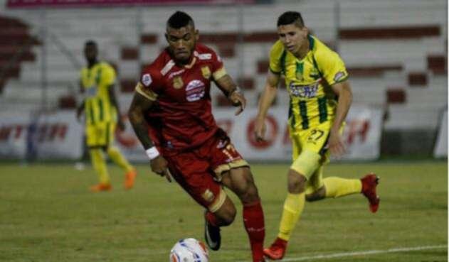 Rionegro Águilas vs Atlético Bucaramanga.