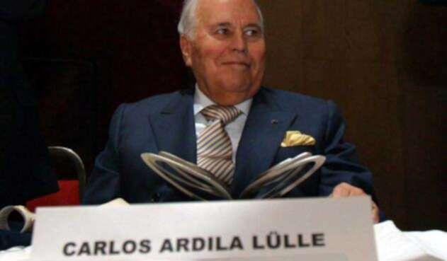 Carlos Ardila Lülle, reconocido empresario colombiano