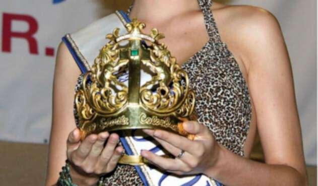 Corona Señorita Colombia.