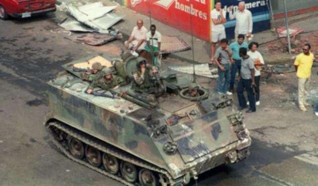 Invasión de EE.UU. a Panamá.