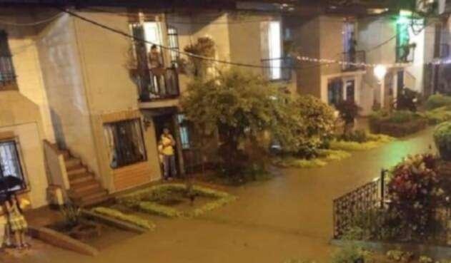 Copacabana, otra de las zonas afectadas por las lluvias en Antioquia.