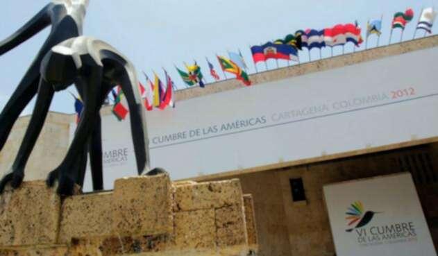VI Cumbre de las Américas se celebró en abril de 2012 en Cartagena.