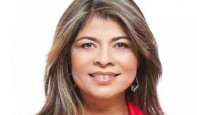 Exdiputada Ángela María Cano, condenada por estafa inmobiliaria.