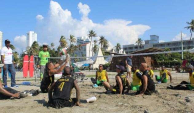 Playa en Cartagena adaptada a personas en condición de discapacidad