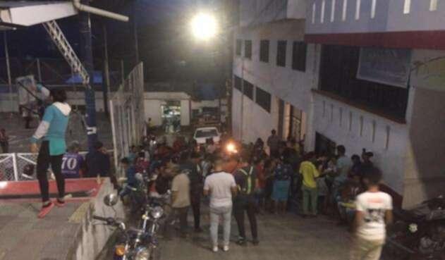 Comunidades campesinas desplazadas desde el Catatumbo